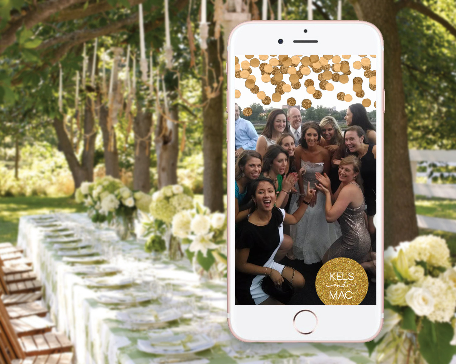 Bridal Guide Create Your Own Custom Snapchat Wedding Filter
