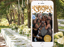 Thumbnail image for Create your own Custom SnapChat Wedding Filter