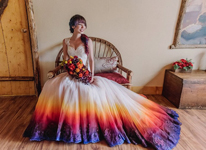 Thumbnail image for The Dip Dye Wedding Gown