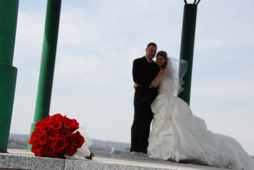 Rose Ceremony Pic- The Bridal Guide