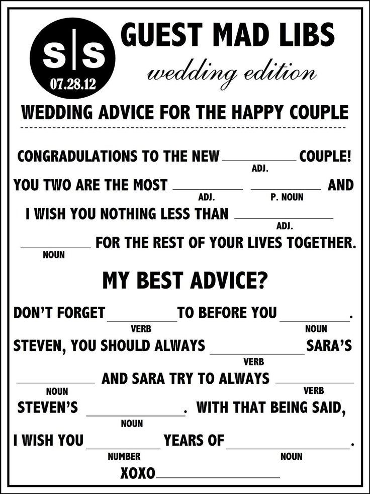 image about Funny Wedding Mad Libs Printable referred to as Bridal Direct - Wedding ceremony Nuts Libs