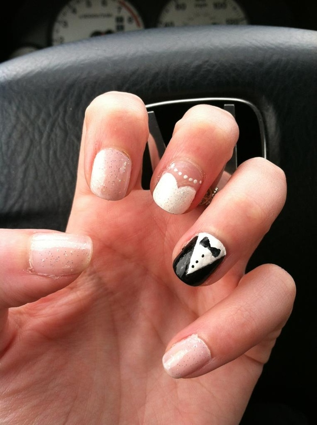 Nail Designs Wedding Day Images - nail art and nail design