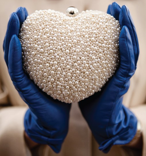 The Sweet and Sparkly Bridal Clutch