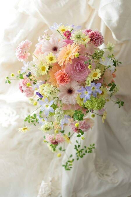 Summer Wedding Bridal Bouquet Inspiration