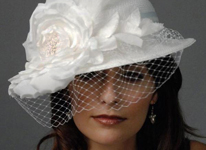 Thumbnail image for Bridal Hats for the Bride with Panache