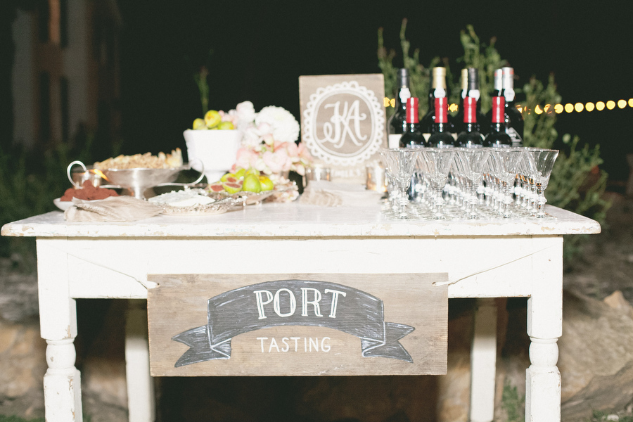 A Port-Tasting Wedding for the Wine Connoisseur