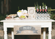 Thumbnail image for A Port-Tasting Wedding for the Wine Connoisseur