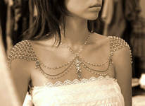 Thumbnail image for Impressive Shoulder Jewelry for the Strapless Bride