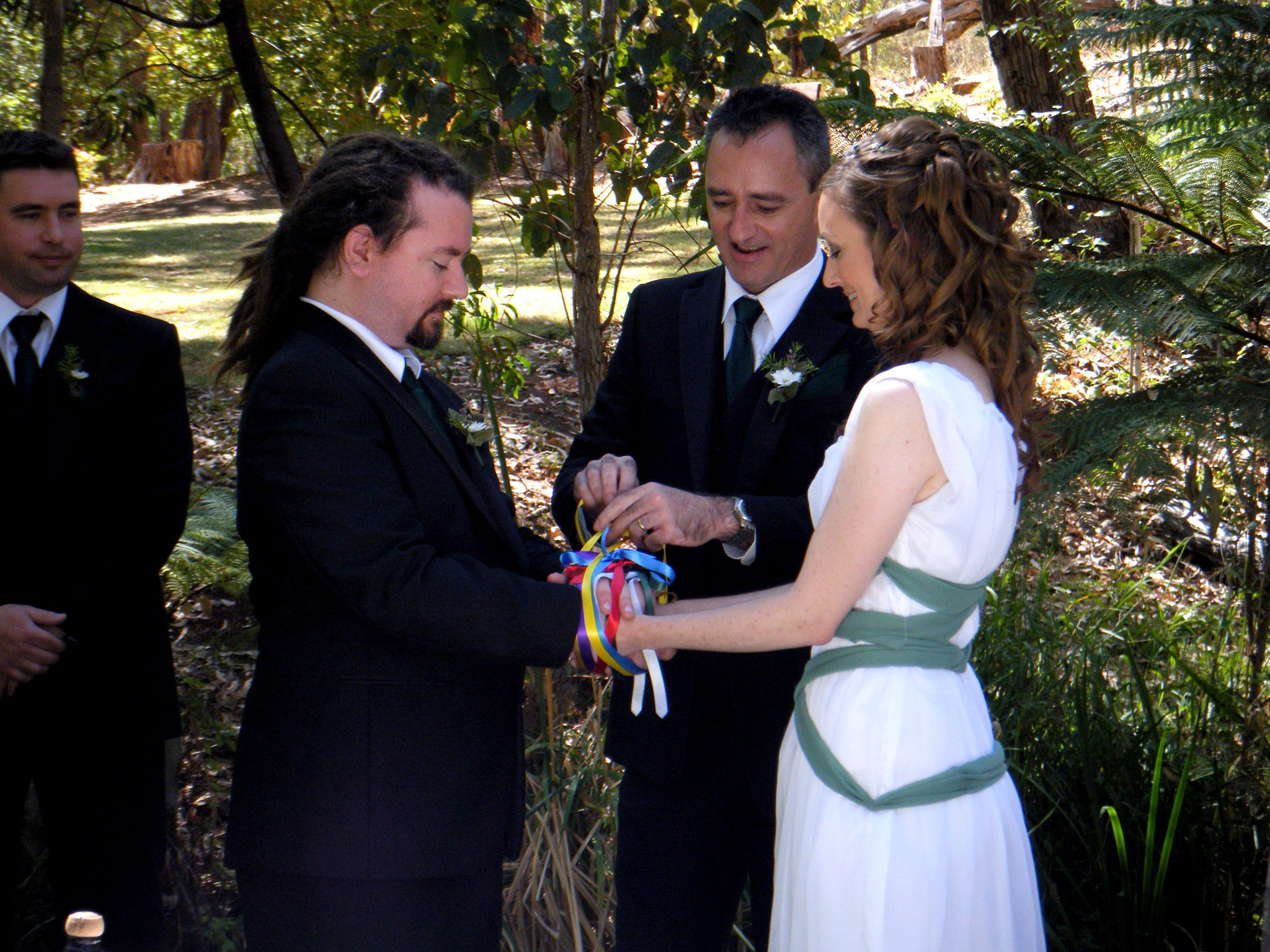 Bridal Guide   Adding the Handfasting Ritual to your Wedding Ceremony