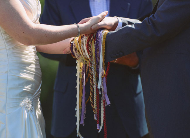 Adding the Handfasting Ritual to your Wedding Ceremony