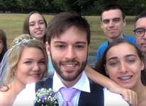 Thumbnail image for Man takes Selfie Everyday from 12 years old to Wedding Day