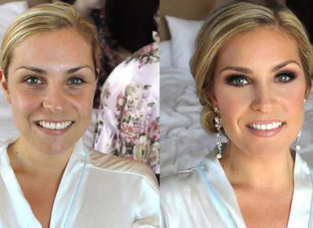 10 Bridal Makeup Before and Afters