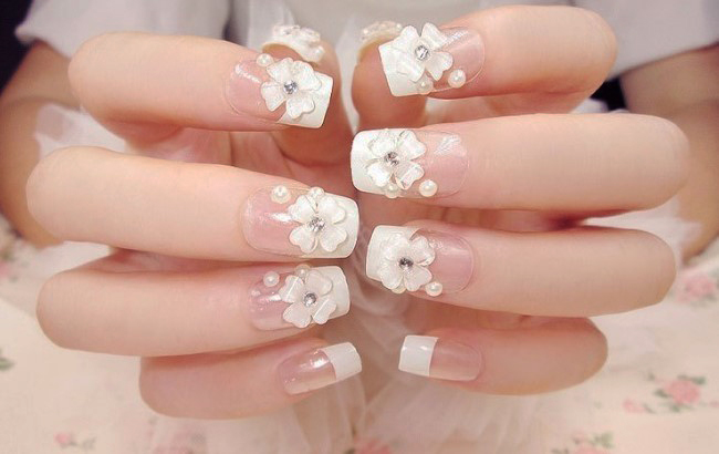 Current Trends for Bridal Nail Art